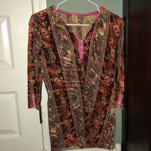 Lucky Brand Henley (size small)